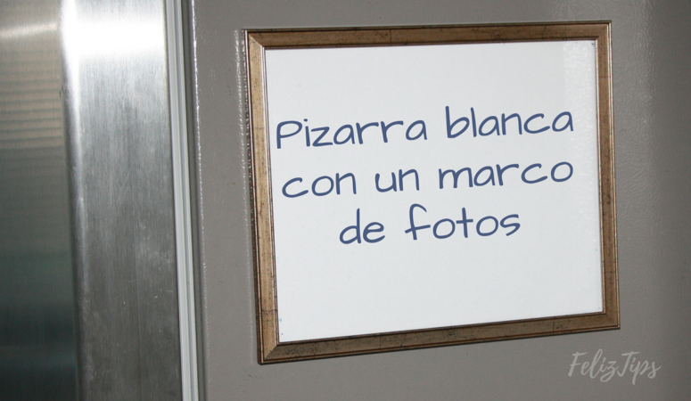 Video: DIY Pizarra blanca con un marco de fotos